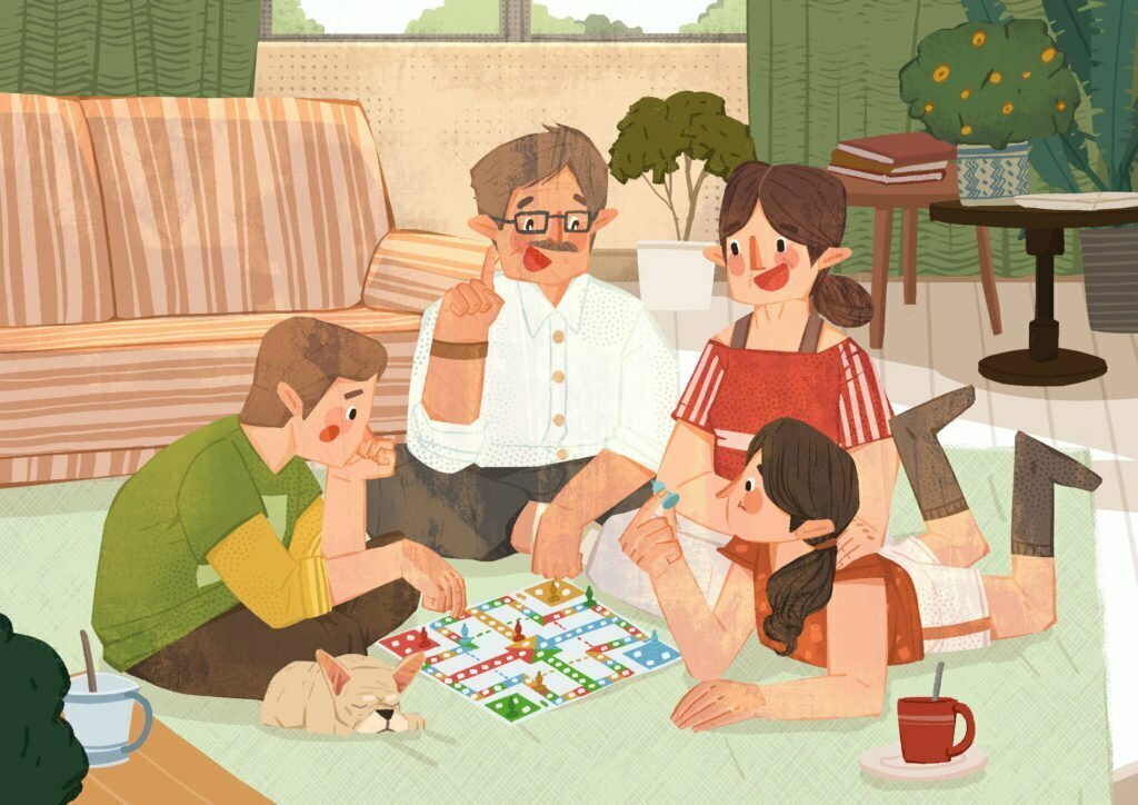 thiết kế board game