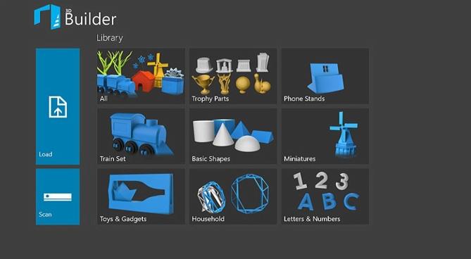 Phần mềm thiết kế Microsoft 3D Builder