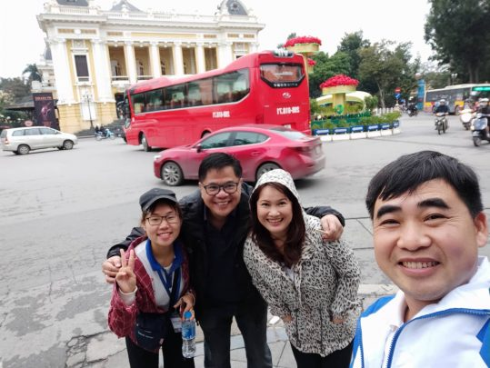 City tour guide in Hanoi
