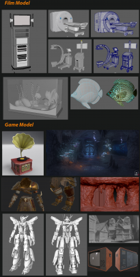 Game , Film Realistic Environment , Asset  ….