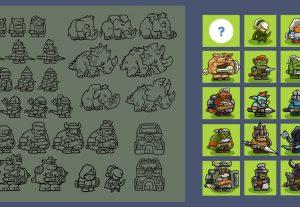 Thiết kế Game Art và animation Spine!!